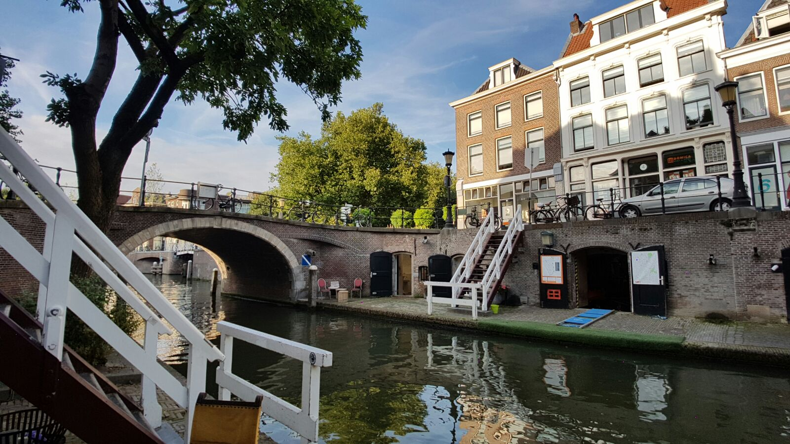 Located in the heart of Utrecht ensures a bustling world around.