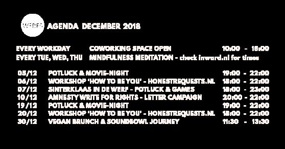 WERF5 agenda december website