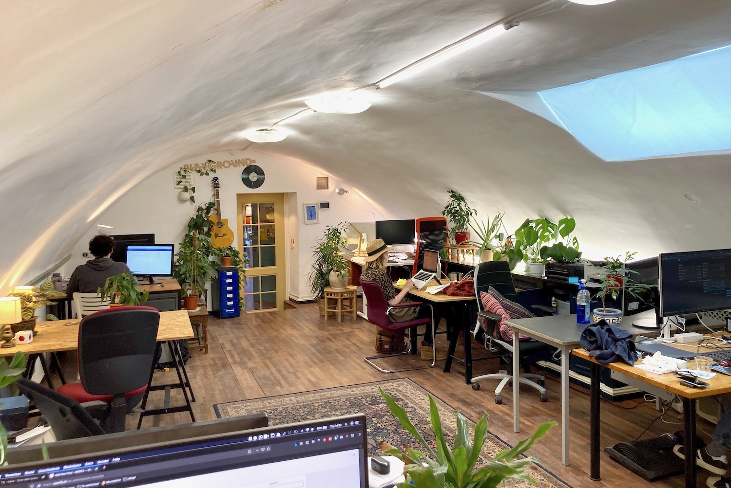 WERF5 front page coworking